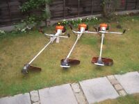 STIHL FS400 PROFESSIONAL 2 STROKE PETROL STRIMMERS NYLON BUMP HEAD, THERE ARE 4 AVAILABLE