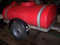 Water tank trailer Water bowser.