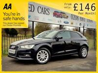 AUDI A3 1.6 TDI SE 5d 104 BHP FREE NATIONWIDE DELIVERY! (black) 2014