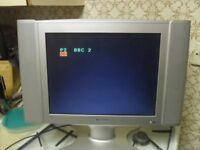 "SAMSUNG LW15E23CB 15"" LCD TELEVISION SILVER FLAT"