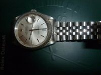 Rolex Oyster Perpetual Datejust 2001 Stainless Steel 16220 Full Provenance