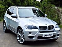 PANORAMIC ROOF! (2008) BMW X5 3.0 SD M SPORT - CAMERA / SAT NAV - LEATHER - ALLOYS-FULL BMW SERVICE