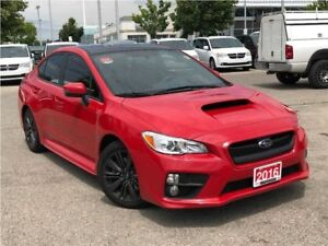 2016 Subaru WRX SPORT**POWER SUNROOF**HEATED SEATS**