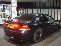 !!! BMW 745I 4.4 AUTOMATIC 2002 PLATE NEWER SHAPE !!! BLACK 7 SERIES !!! 1 YEAR NEW MOT !!!