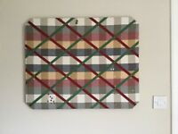 Extra large padded memo board