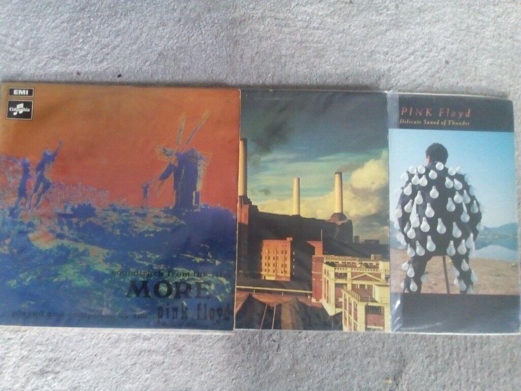 Pink Floyd albums x3 | in Exmouth, Devon | Gumtree