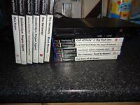 ps2 slim console excellent + games