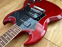 Gibson SG Classic, Cherry, bound fretboard