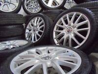 17inch genuine vw bbs sport alloys wheels audi a4 a3 5x112 golf caddy t4 t3 camper mk6