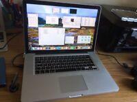 "Macbook Pro 15"" (2012, Spanish keyboard, UK plug) quad i7 - 8GB RAM - 750GB HDD - Nvidia 650M"