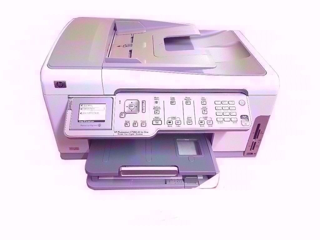 HP C7280 ALL IN ONE PRINTER , SCANNER, COPIER & FAX