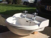 Bathroom Sink & Taps including Bath