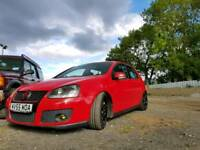 Golf GTI MK5 IN RED