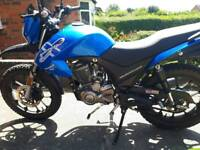 Lexmoto assault 125cc excellent condition low milage