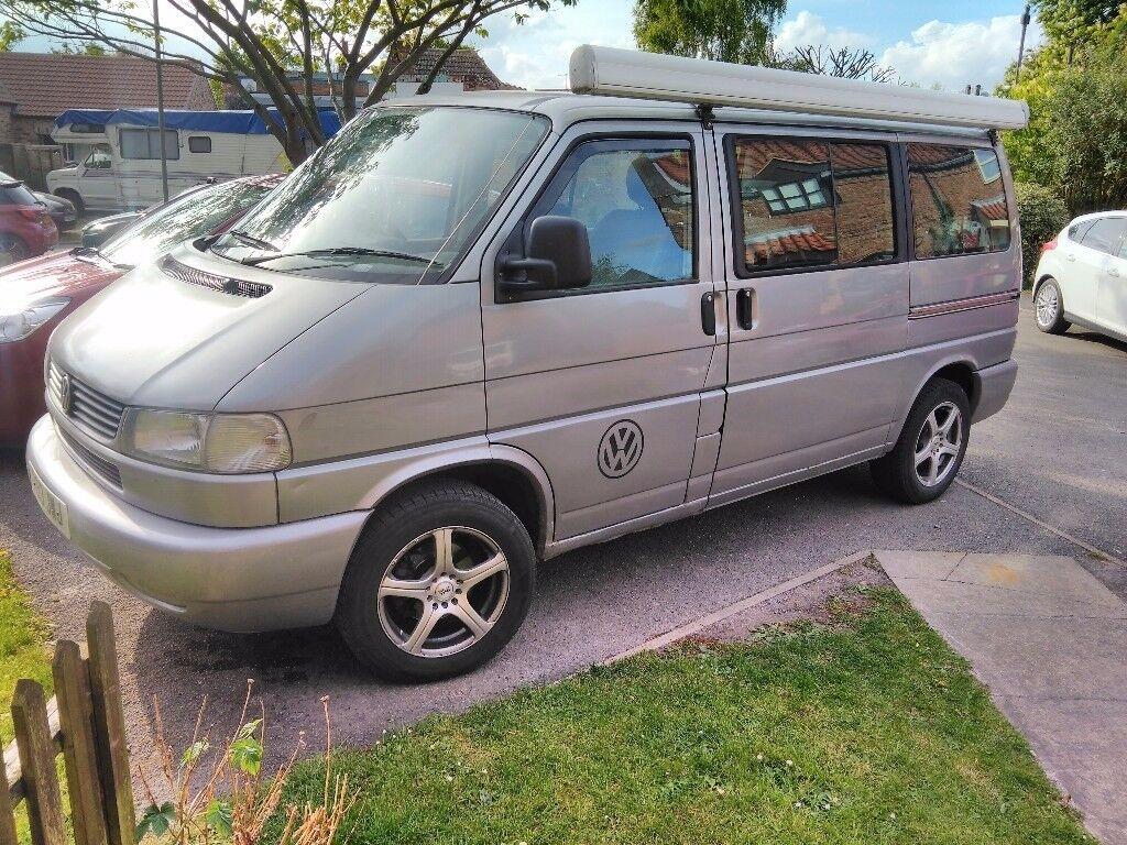 VW T4 Transporter Caravelle 8 seater minibus Volkswagen camper van semi- camper