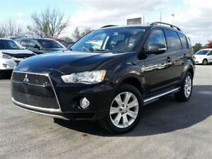 2013 Mitsubishi Outlander XLS-7 PASSENGER-AWD-LEATHER-NAVIGATION