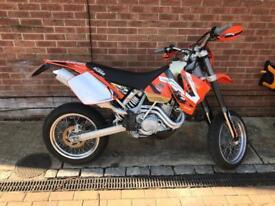 KTM 520 EXC SUPER MOTO