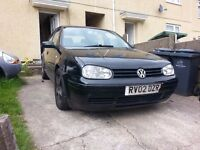 golf gt tdi 150bhp breaking 6 speed gear box new turbo new clutch in black engine runs sweet