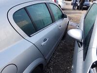 Vauxhall Astra mk 5 Drivers Front door in Silver