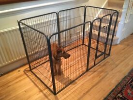 Heavy Duty Dog Cage/Play Pen 160x80. 1 metre high