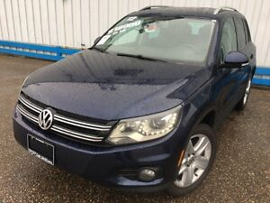 2012 Volkswagen Tiguan 2.0 TSI AWD *LEATHER-SUNROOF*