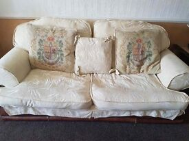 Two Three seater Sofas and one two seater sofas