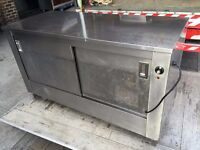 CATERING COMMERCIAL HOT CUPBOARD PLATE WARMER KEBAB PIZZA CHICKEN RESTAURANT HOTEL PUB BAR KITCHEN