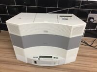 Stunning Bose wave system in white