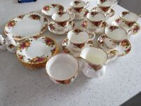 Royal Albert old country rose selection