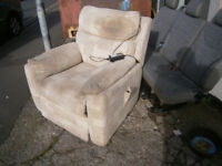 free ELECTRIC RECLINER RISER CHAIR IN YEOVIL free to collector