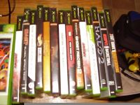 XBOS WITH LOADS OF GAMES