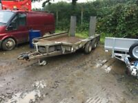 ifor williams 10x6 plant trailer