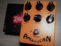 Joyo / Rocktronics American Sound amp / speaker simulator for recording / live. Tech21 Blonde clone