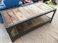 Industrial reclaimed wood unit