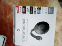 Chromecast and hudl tab