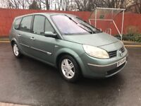 2004** 7 SEATER Renault Grand Scenic Hatchback 1.9 dCi Privilege 5dr PAN-ROOF, HALF LEATHERS BARGAIN