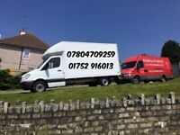 01752916013-REMOVALS Plymouth LTD-24/7-WE USE LUTON VAN WITH TAIL LIFT!MAN AND VAN-ALWAYS GOOD RATES