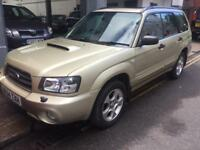 SUBARU FORESTER AUTOMATIC 82000 MILES 4X4 VERY GOOD DRIVE