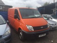 2007 LDV MAXUS NISSAN DIESEL ENGINE MOT GOOD DRIVER SIDE LOADER PLY LINED CHEAP RUNABOUT ANYTRIAL
