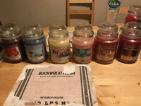 large yankee candles the big ones last few £12 each £20 for 2