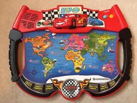 CARS lightning mcqueen interactive atlas