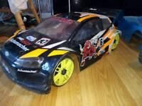 Rally cross car 1/8