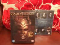 Unopened GAME OF THRONES BOXSETS