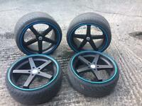 "E60/61 bmw 20"" alloy wheels"