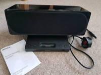 Sony speaker docking station