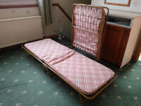 Metal Frame Guest Beds selling as a matching pair