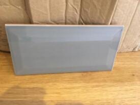 Metro grey tiles 10cm by 20cm