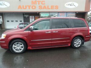 2010 Chrysler Town & Country Limited, BACKUP CAM, LEATHER, DVD