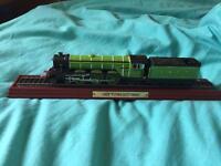 Lner flying Scotsman steam train model ornament 30cm long