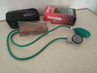 Blood Pressure Monitor NEW -Manual Boxed w/ Stethoscope